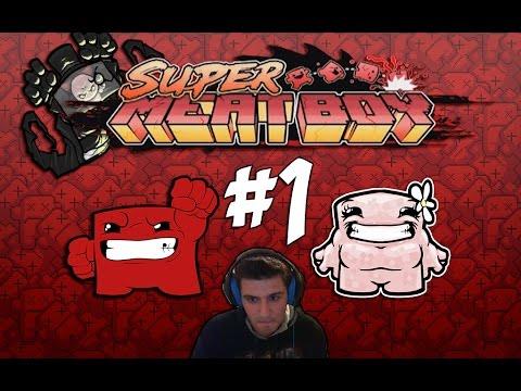ΤΟ RAGE ΞΕΚΙΝΑ! (Super Meat Boy) #1 - 동영상