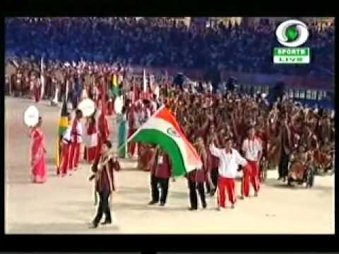 Commonwealth Opening ceremony India Entry