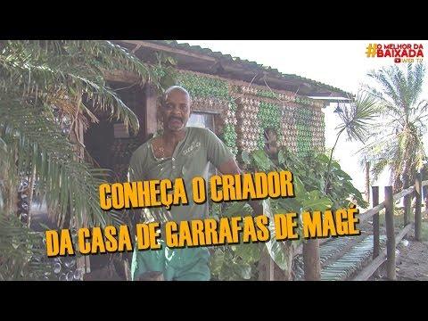 Comerciante cria Casa de Garrafas em Magé