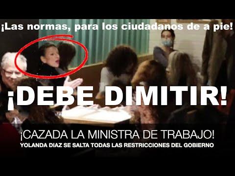 ¡MONUMENTAL CAZADA A LA MINISTRA DE TRABAJO SALTÁNDOSE TODAS LAS NORMAS!