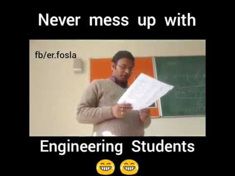 Never mess with a Engineer ||| Mia Khalifa || Funny India student prank with their teacher