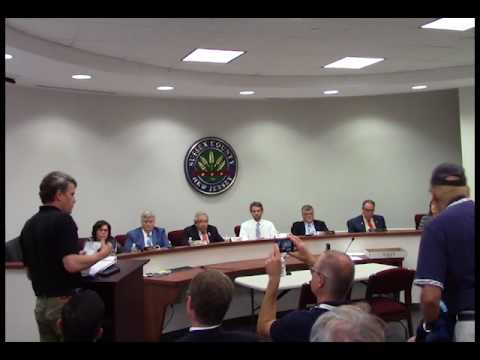 August 9 2017 Sussex County Board of Chosen Freeholders