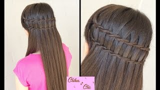 Double Faux Waterfall Braid! | Easy Hairstyles | Cute Girly Hairstyles | Braided Hairstyles