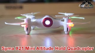 Syma X21 Altitude hold Mini RC Quadcopter