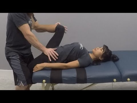 assisted pnf stretching for the hip flexors and knee