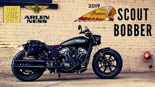 2019 Indian Scout Bobber | Demo test ride and review at Arlen Ness Motorcycles