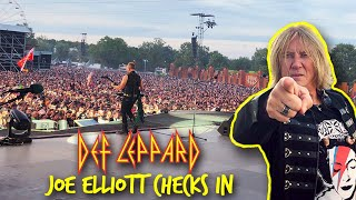 We're on FIRE! Def Leppard Hits Europe