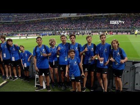 INTER ACADEMY ARGENTINA + INTER ACADEMY JAPAN at Inter vs Empoli! 🇦🇷🇯🇵⚫🔵
