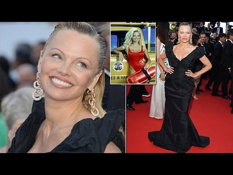 Pamela Anderson looked unrecognisable when she made an appearance at Cannes 2017