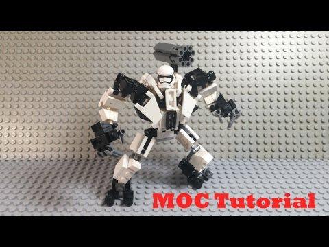 R 18 Stormtrooper Mech Suit Tutorial A Lego Star Wars Moc Tutorial