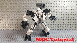 R-18 Stormtrooper Mech Suit Tutorial - A LEGO Star Wars MOC Tutorial