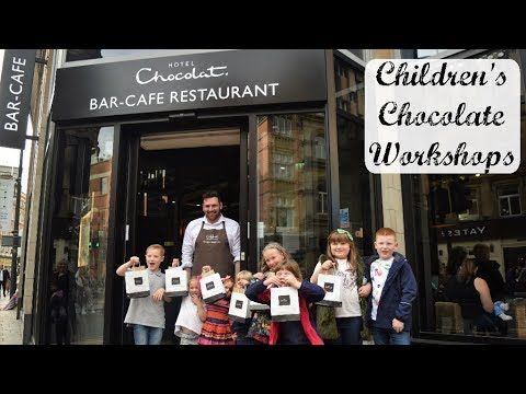 Our Experience of a Children's Chocolate Workshop at Hotel Chocolat in Leeds!