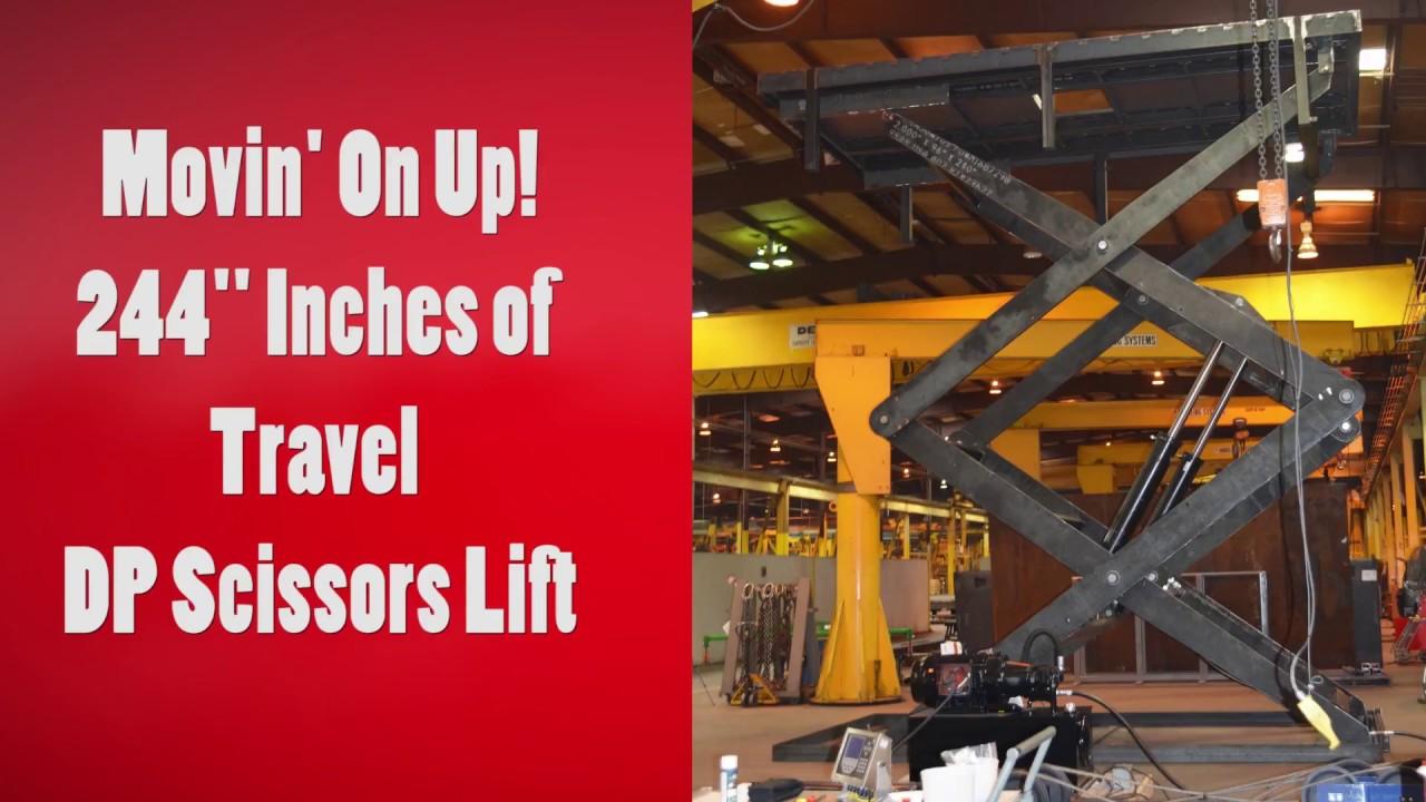 Double Pantograph Lifts - Scissor Lifts   Striker Lift Systems Inc