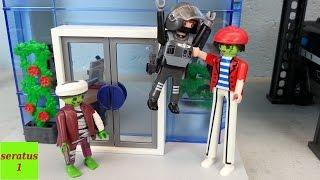 Angriff auf die SEK Zentrale Playmobil Film seratus1 Polizei
