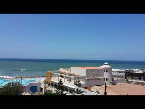 Beach near Hotel Club Val D' Anfa, Casablanca, Morocco