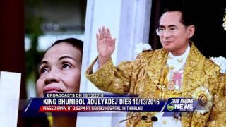 SUAB HMONG NEWS:  King Bhumibol Adulyadej of Thailand passed away on 10/13/2016