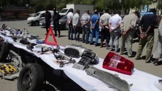 مصالح أمن ولاية الجزائر تفكك شبكة وطنية مختصة في سرقة المركبات