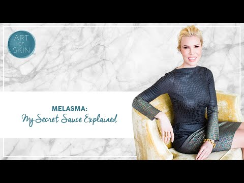 Melasma: My Secret Sauce Explained
