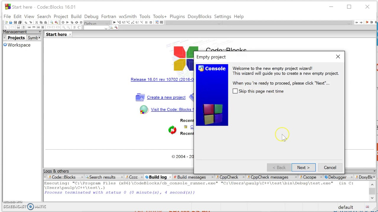 how to download code blocks for windows