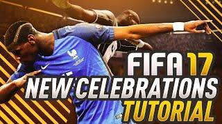 FIFA 17 NEW CELEBRATIONS TUTORIAL! (HOW TO) XBOX & PS4