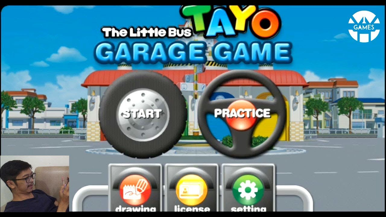 Main Game Tayo The Little Bus Bahasa Indonesia Youtube