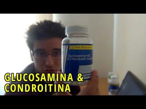 Glucosamina e Condroitina para as articulações