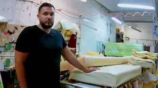 видео Качественная перетяжка мебели