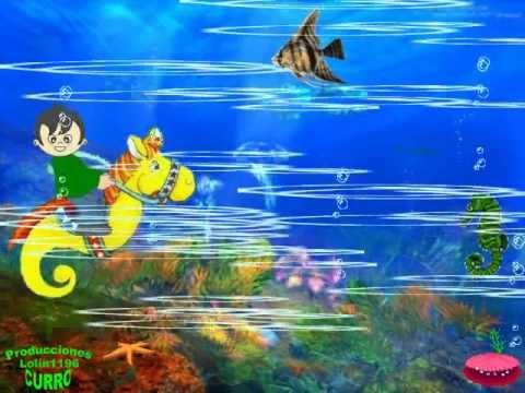 Canción Infantil Caballito De Mar Youtube