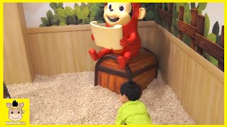 Kids Indoor Playground Family Fun Play Area! Cocomong Pororo park kids cafe  | MariAndKids Toys