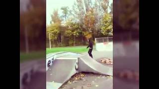 Zelzate Skate - Eerste video!