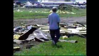 Tornado Hallock MN July 9th 1995 With Funnel Video