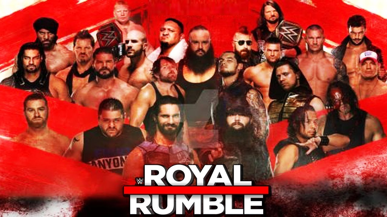 WWE Royal Rumble 2018 - FULL MATCH - YouTube