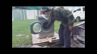 "Chavez - ""Top Pocket Man"" vs Self Destructing Washing Machine"