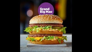 THE GRAND BIG MAC X10 CHALLENGE MAN VS FOOD