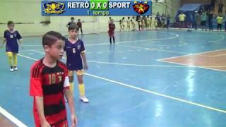 Sport x Retrô - Copa Pernambuco de Futsal - Sub 8 2019