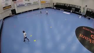 U11 pallonkäsittely - labyrintti