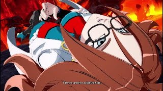 Waifu 21 Mad THICC!!!! Dragon Ball FighterZ Android 21 Gameplay