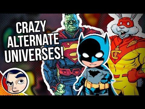 CRAZIEST DC Alternate Universes in Multiverse!