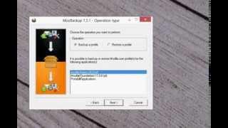 Mozilla Thunderbird Backup - MozBackup - Backup von Mozilla Thunderbird Backup und Restore Deutsch