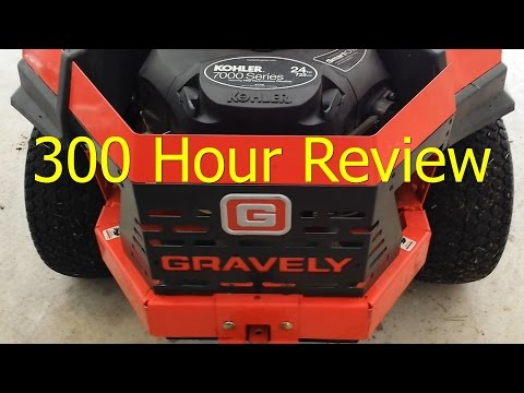 300 Hour Review - Gravely ZTx 42 inch Zero Turn Riding Mower