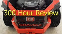 300 Hour Review - Gravely ZTx 42 Zero Turn Riding Mower