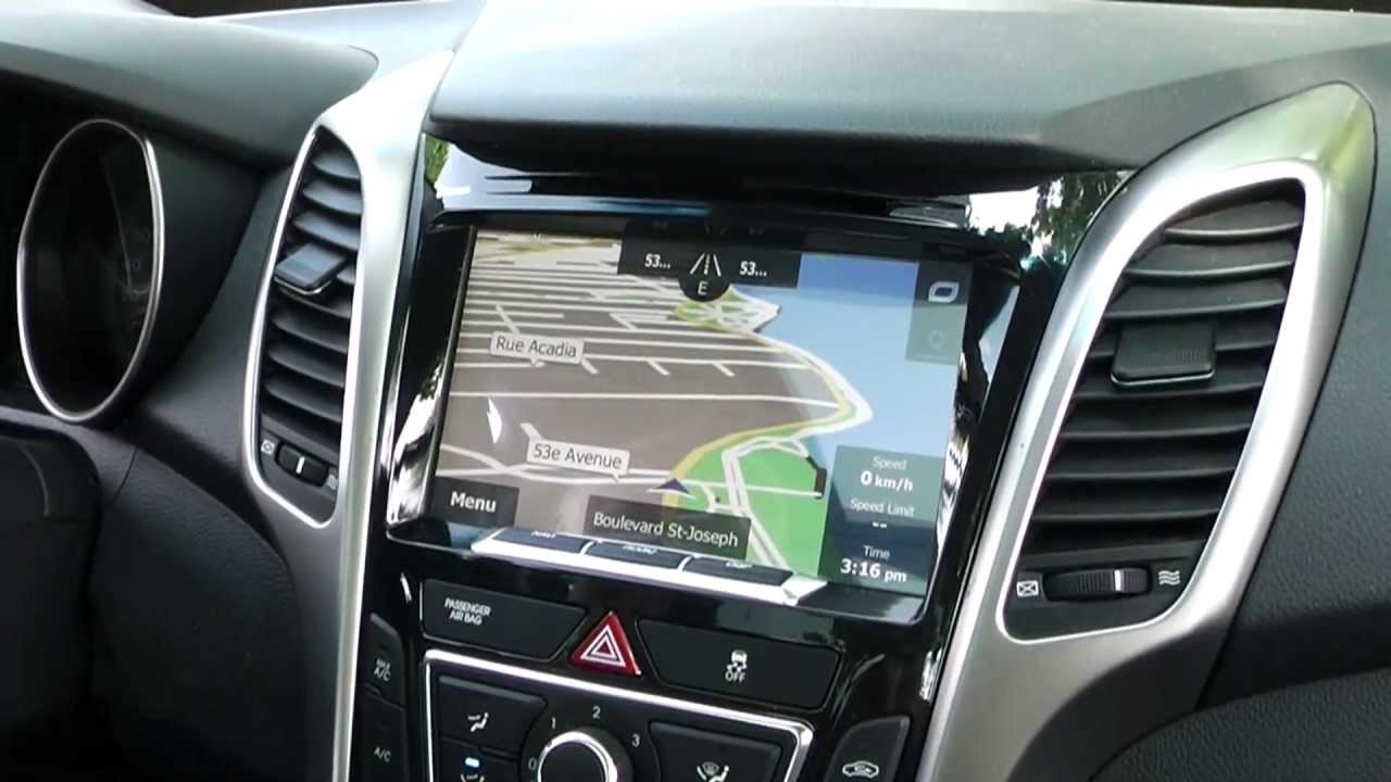 2013 Hyundai Elantra Gps Radio Wiring Diagram Compass Nav 8 Quot Elantra Gt Oem Integrated Navigation