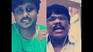 cheppave chirugaali (short cover) smule karaoke singing