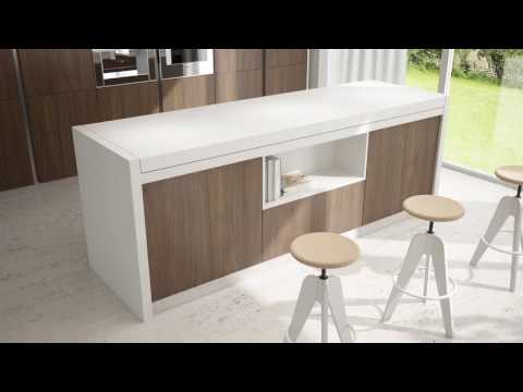 ATIM Snack Transformable Table