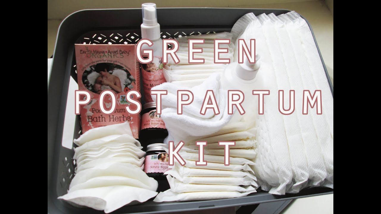 A Greener, Cleaner Postpartum Care Kit // Vegan, Cruelty Free #1