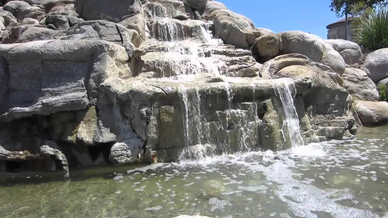 Man Made Small Waterfalls Valencia Ca 4 Sample Clips V12845 You