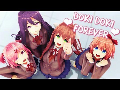 【MMD】⌈DDLC⌋ Doki Doki Forever!