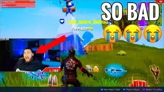 LosPollosTv Getting Worse At Fortnite? Funny Moments and Many Fails