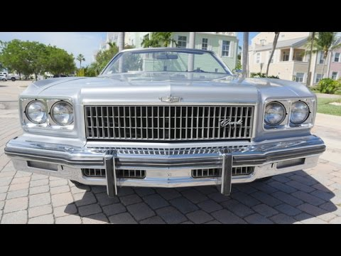 1975 CHEVROLET CAPRICE CONVERTIBLE FOR SALE 2015