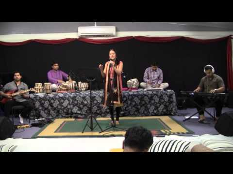 Shubhi Singing Mai Teri Chunariya Lahraye at Mehfil e Mausiqui 2016